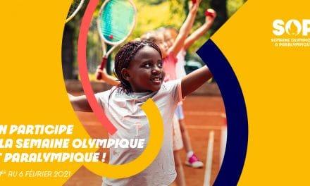 SEMAINE OLYMPIQUE ET PARALYMPIQUE 5ÈME ÉDITION du 1er au 6 février 2021 • Thématique 2021 : La Santé